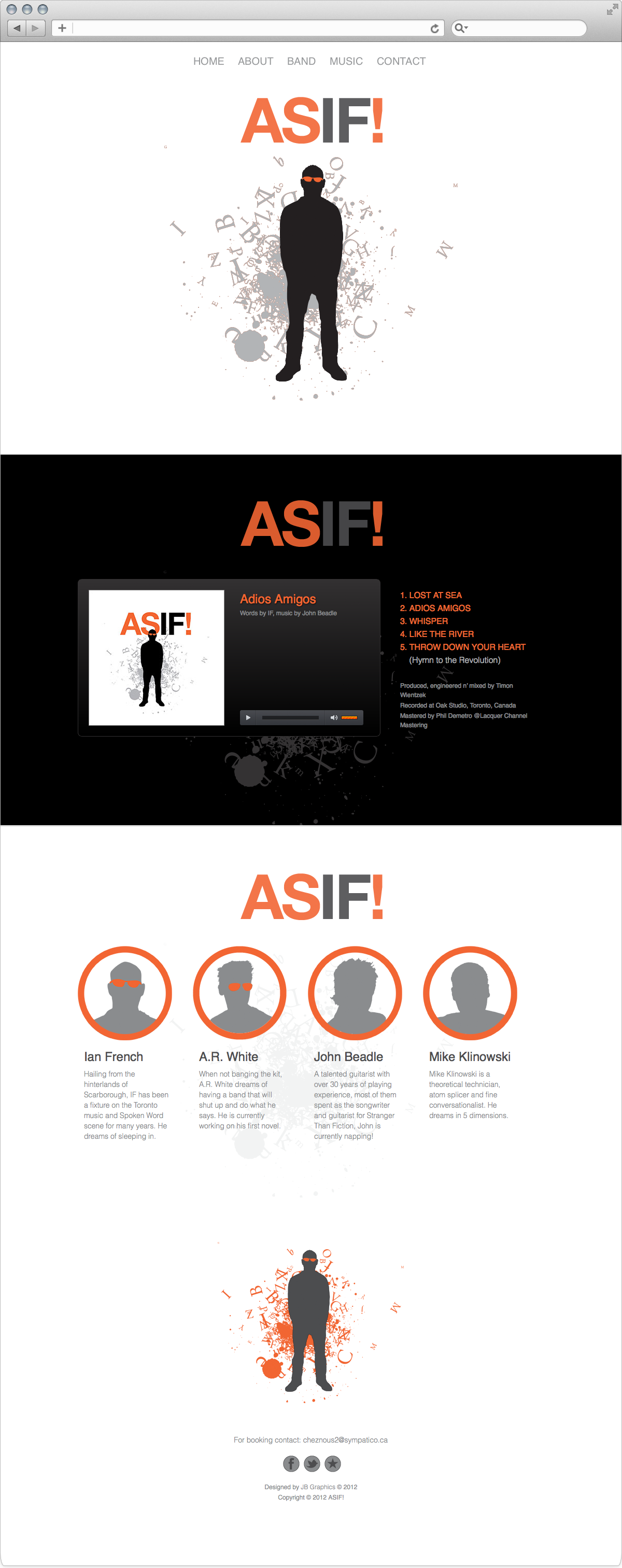 ASIF web site designed by John Beadle